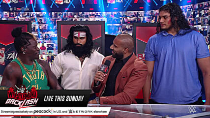 Jinder Mahal introduces Veer and Shanky to the WWE Universe: Raw Talk, May 10, 2021