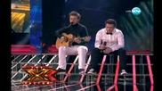 Прекрасно изпълнение на Ангел и Моисей -x- Factor - 23.11.11