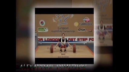 България, вдигане на тежести 2010