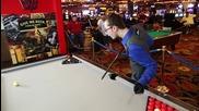 Vegas Sexy Billiard Trick Shots
