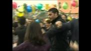 Опасни улици - Синан, Хюсню, Месут и Али - танцуват кючек - 215 епизод Btv