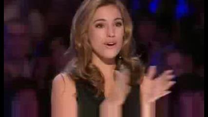Britains Got Talent Hollie Steel - Britains Got Talent - Show 3