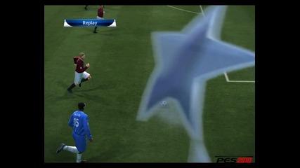Pro Evolution Soccer - Един от най-тъпите вратари...гол на Florent Malouda