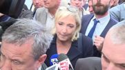 France: Le Pen courts farmers at agriculture summit in Clermont-Ferrand
