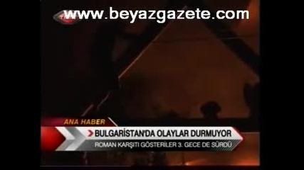 Bulgaristan'da Olaylar Durmuyor Trt 1