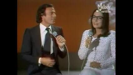 Nana Mouskouri & julio Iglesias - Музикална програма @ Paris1979