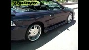 Candy Purpura Ford Mustang convertible