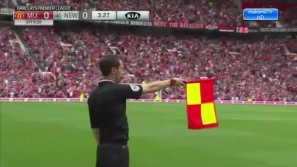 Манчестър Юнайтед 0:0 Нюкасъл Юнайтед/ Висша Лига