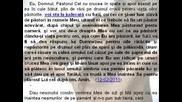 Cuvantul lui Dumnezeu pentru poporul roman (audio) P1 (4) (referitor la criza moral