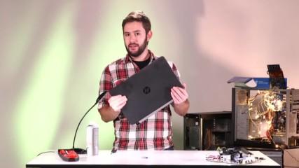 Как САМИ да си ПОЧИСТИМ лаптопа