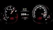 Audi Rs-6 Mtm 730hp от 0 до 333 km/h