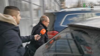 Трифон Попов без коментар след срещата с феновете