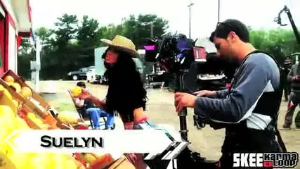 Behind The Scenes Of Hollywood Undead's Comin' in Hot Music Video