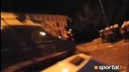 Закачки с полицията след отпадането на Полша от Евро 2012