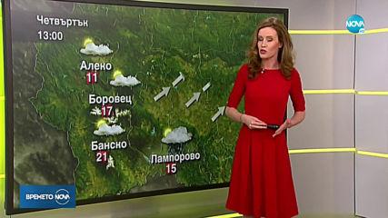 Прогноза за времето (04.06.2020 - сутрешна)