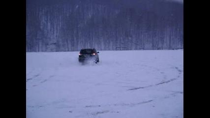 Мицубиши Аутлендър - Тест на сняг