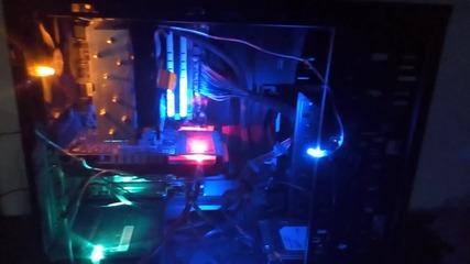 Как се прави Led осветление на компютъра за по-малко от 2лв