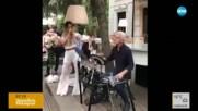 УНИКАЛЕН ДУЕТ: Гери-Никол пее, а Волен Сидеров се вихри на барабани