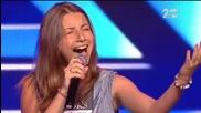 16-годишната Михаела Маринова изуми журито и публиката - The X Factor Bulgaria 2014
