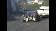 Hmt - built turbo Crx burnout