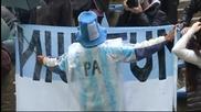 В Аржентина празнуваха и победата, и контузията на Неймар