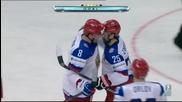 Русия разби Швейцария на световното  по хокей на лед
