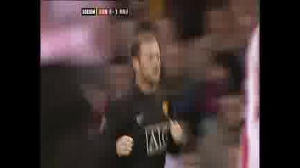 Sunderland 0:1 Manchester Utd. - Rooney
