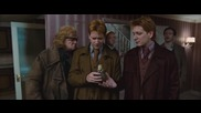 Harry Potter and the Deathly Hallows Part I Seven Potters Scene [hd]