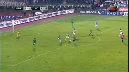 Лудогорец ще играе в плейофите за влизане в групите на Шл!!! партизан-лудогорец 2-2