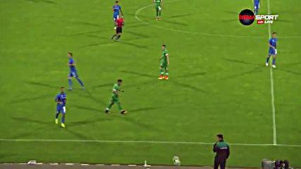 Агресията на Левски срещу Лудогорец