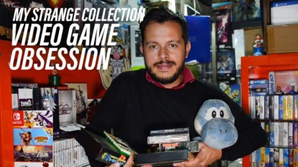 Meet the guy with a 10,000+ video game collection