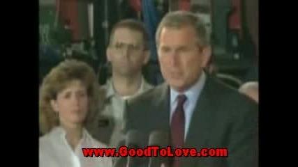 George Bush Супер Смешни Моменти