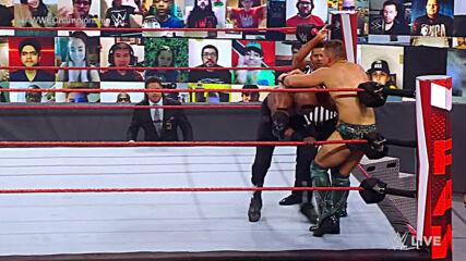 Bobby Lashley vs. The Miz – WWE Championship Match: Raw, Mar. 8, 2021