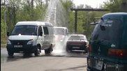 Руска автомивка на аванта