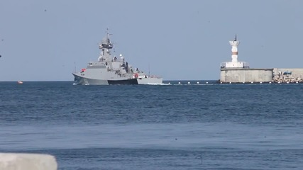 Russia: Missile corvette departs Sevastopol for deployment off the Syrian coast