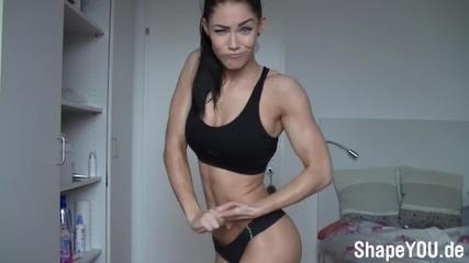 Секси фитнес модел-stephanie Davis
