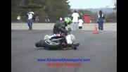 Въртене и падане с мотор