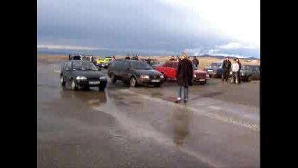 Драг - Жигула vs. Passat vs. Suzuki