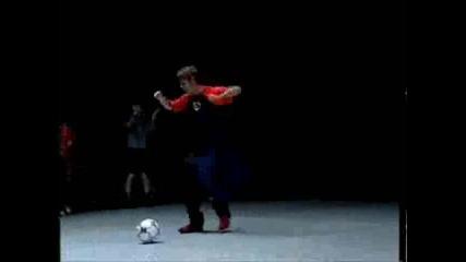Dancing Ronaldinho
