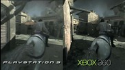 Assassins Creed: Brotherhood ( Ps3 vs Xbox 360 Comparison Hd )
