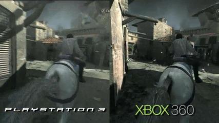 Assassins Creed: Brotherhood ( Ps3 vs Xbox 360 Comparison Hd )