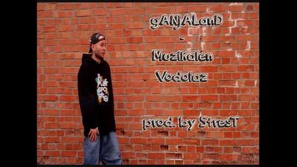 ganjaland - Muzikalen Vodolaz [prod. by Strest]