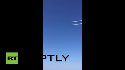 Italy: Two planes collide, killing one pilot, during Tortoreto air show