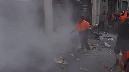 Australia: Violence erupts outside Melbourne union office over vaccine mandate