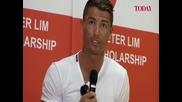 Кристиано Роналдо коментира ситуацията в България в деня на изборите