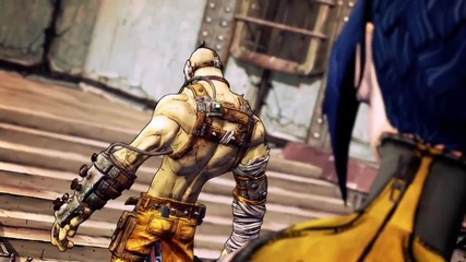 Borderlands 2 - Krieg's 'story' Trailer - Krieg A Meat Bicycle Built For Two