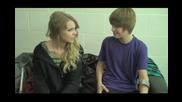 Ето защо Justin Bieber си е изкълчил крака... счупи крак се пожелава за късмет xd