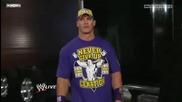 John Cena attacks Nexus Back Stage - 29.11.2010 ~ Part 1