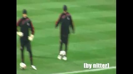 Ronaldinho Training