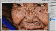 100-годишна жена е подмладена и красива отново